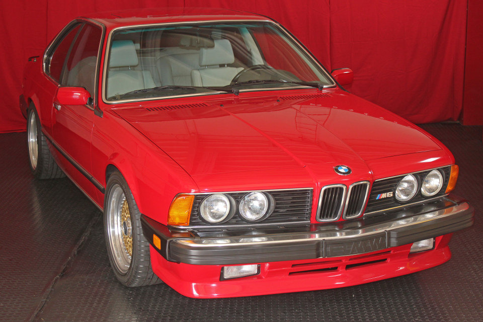 1987 BMW M6 Coupe = clean Red(~)Ivory 79k miles $$60k For Sale (picture 3 of 5)