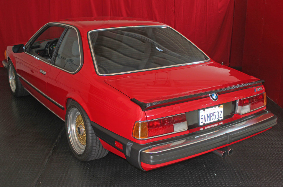 1987 BMW M6 Coupe = clean Red(~)Ivory 79k miles $$60k For Sale (picture 4 of 5)