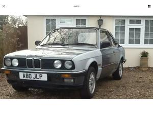 1984 Bmw e30 320i Baur TC convertible For Sale