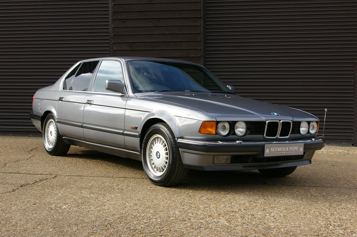 1991 BMW E32 735I Automatic Saloon (56,740 miles) For Sale (picture 1 of 6)