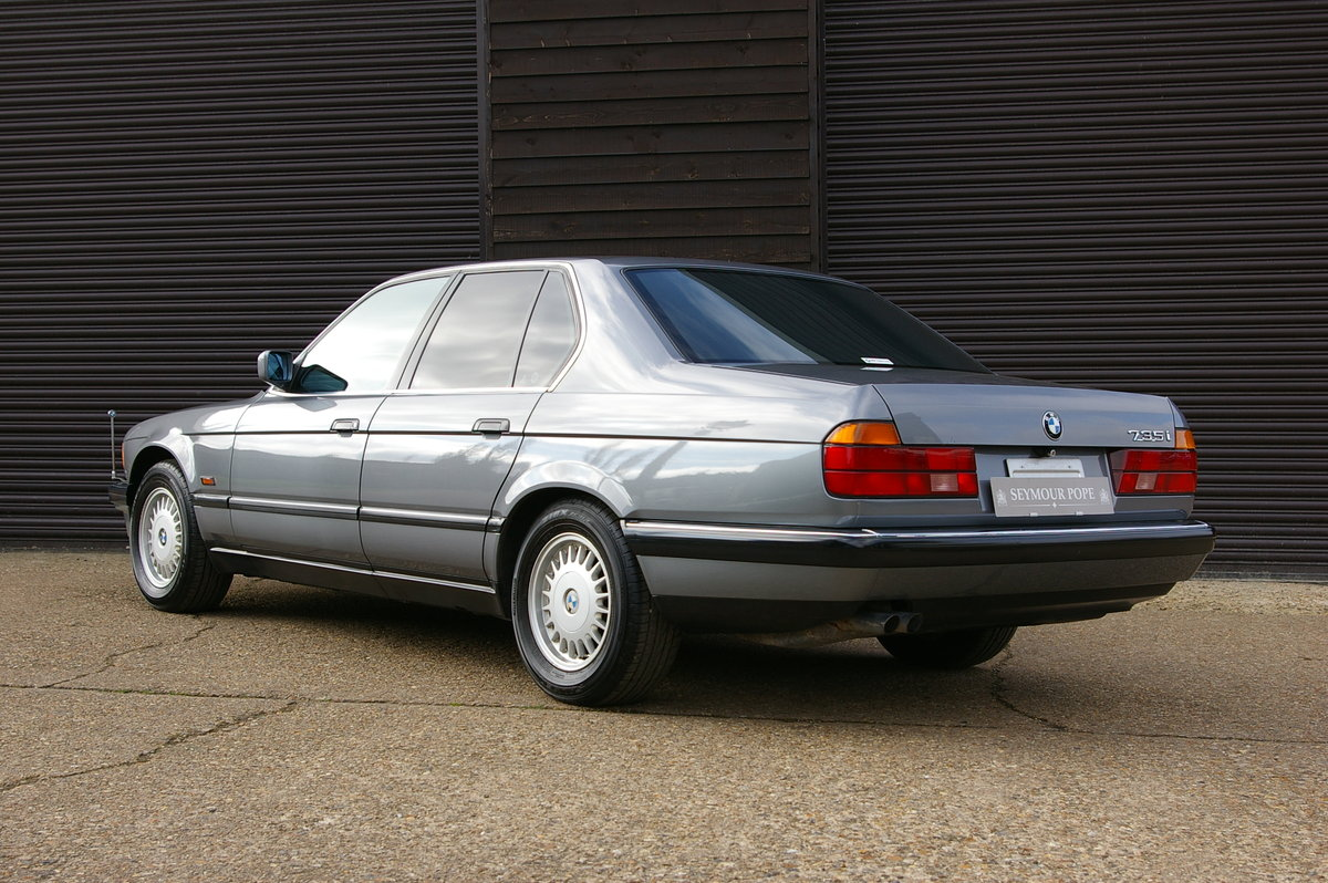 1991 BMW E32 735I Automatic Saloon (56,740 miles) For Sale (picture 3 of 6)