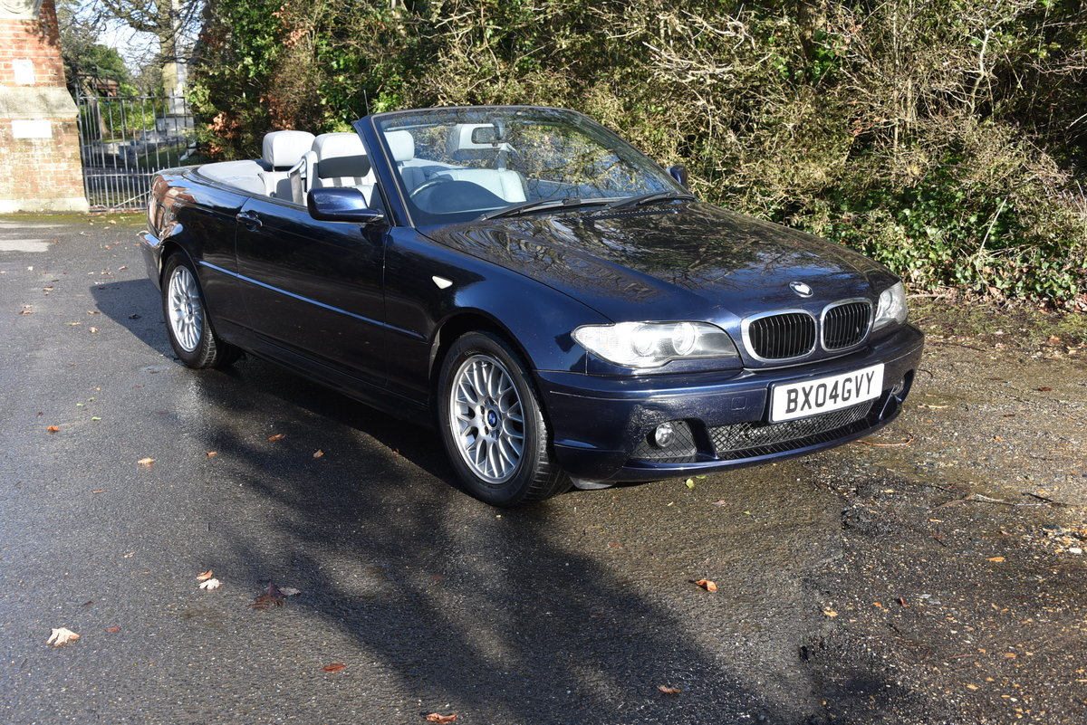 2004 BMW 318 CI SE Auto Convertible For Sale (picture 1 of 6)