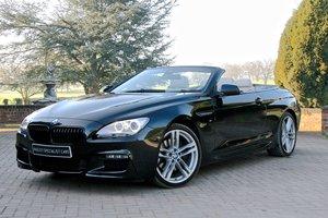 2014/64 BMW 640D (313BHP) M SPORT STEPTRONIC AUTO CABRIOLET For Sale