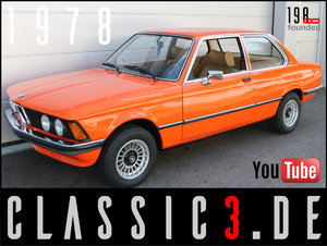 "1978 BMW 320 /4 AUTOMATIC E21 ""JÄGERMEISTER""-ORANGE 13 For Sale"