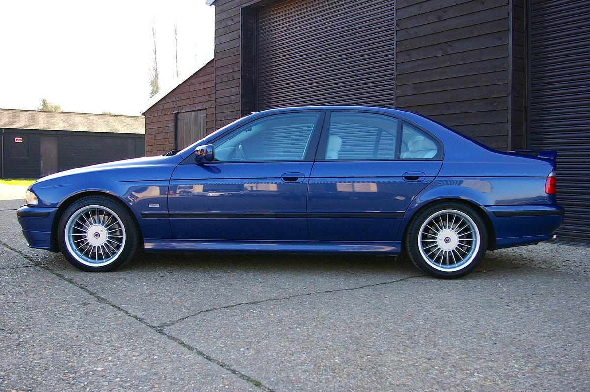 1999 BMW Alpina E39 B10 4.6 V8 Saloon Auto (34,323 miles) SOLD (picture 2 of 6)