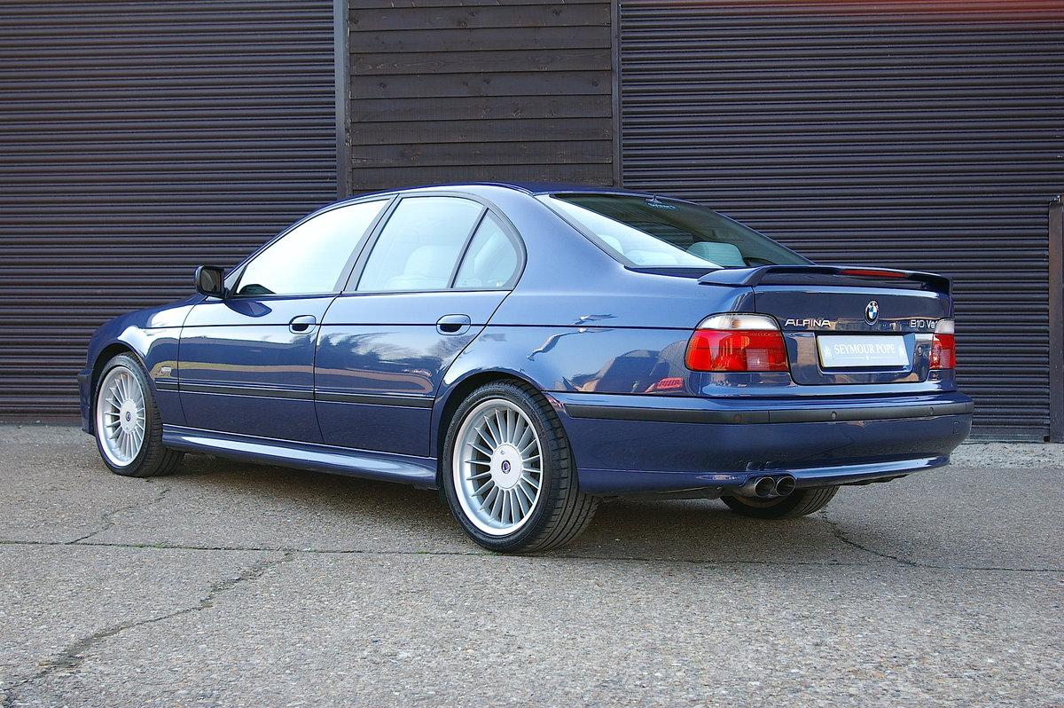 1999 BMW Alpina E39 B10 4.6 V8 Saloon Auto (34,323 miles) SOLD (picture 3 of 6)