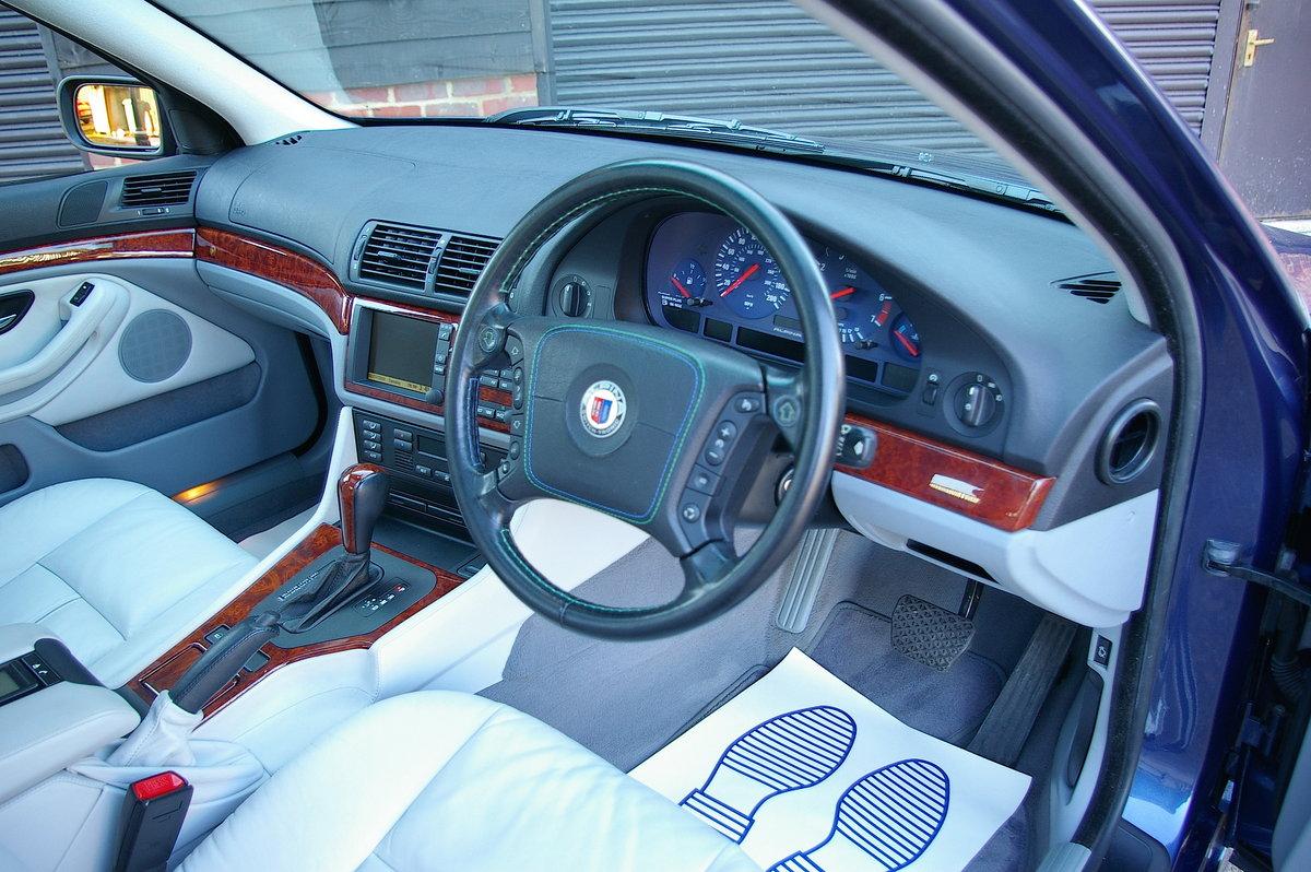 1999 BMW Alpina E39 B10 4.6 V8 Saloon Auto (34,323 miles) SOLD (picture 4 of 6)