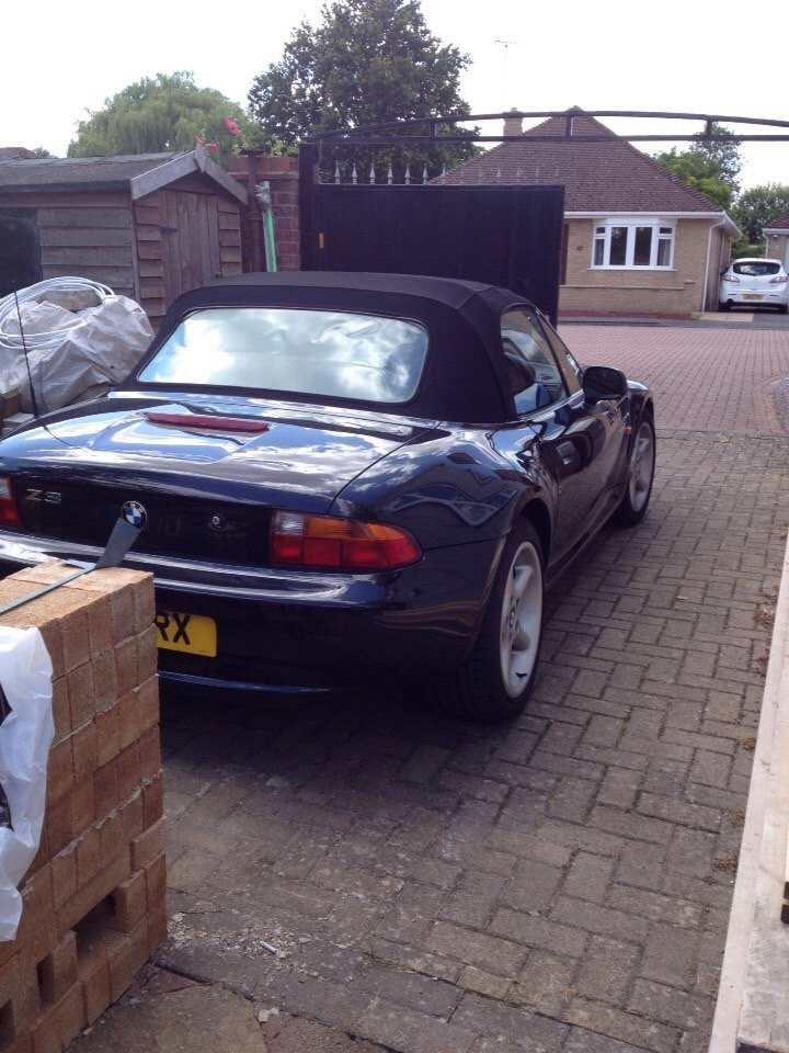 1997 BMW  Z3 2.8  Wide Body  Automatic For Sale (picture 2 of 6)