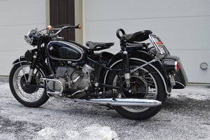 1987 FS: 1966 BMW R50/2 and Duna Sidecar