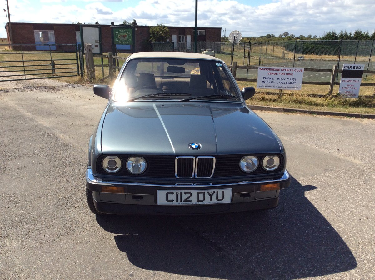1986 BMW Bauer Cabriolet Automatic Petrol For Sale (picture 1 of 6)