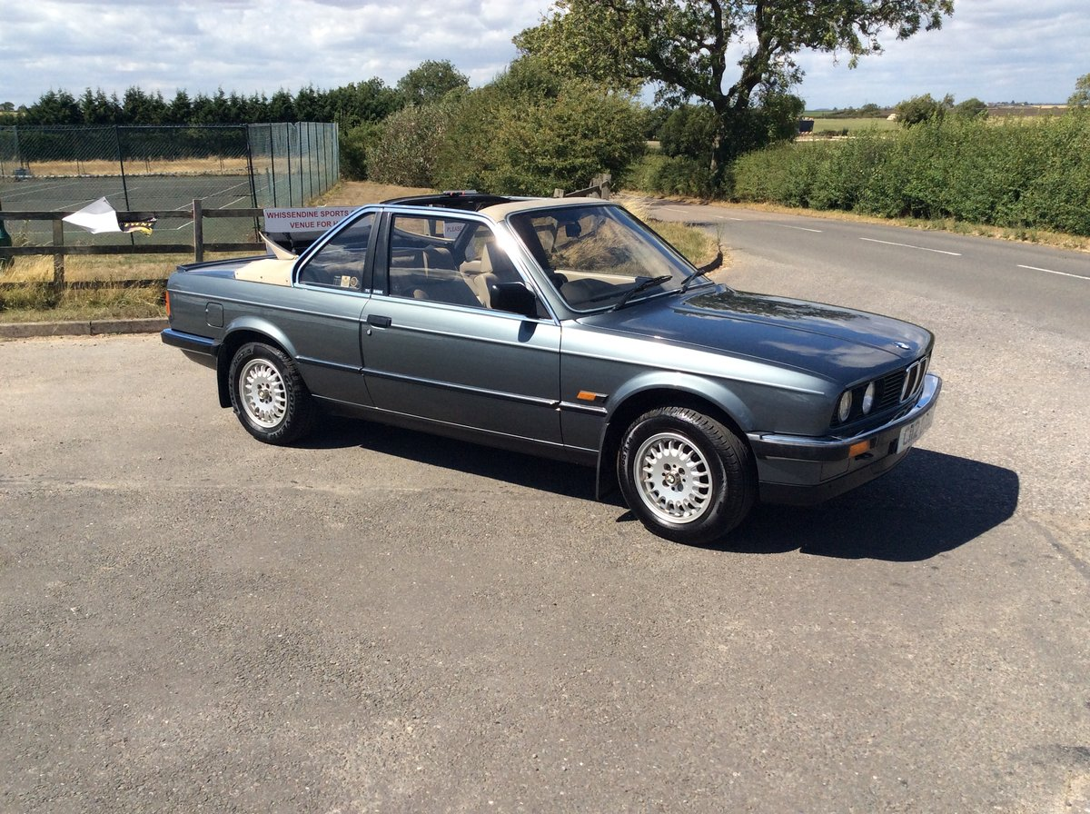 1986 BMW Bauer Cabriolet Automatic Petrol For Sale (picture 3 of 6)