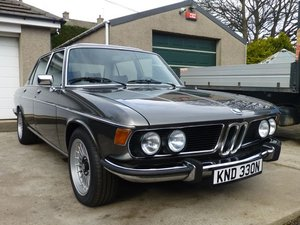1975 BMW E3 2800L Saloon with Running Gear Updates For Sale