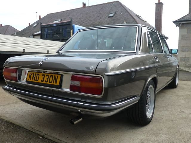 1975 BMW E3 2800L Saloon with Running Gear Updates For Sale (picture 2 of 6)