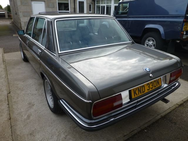 1975 BMW E3 2800L Saloon with Running Gear Updates For Sale (picture 3 of 6)