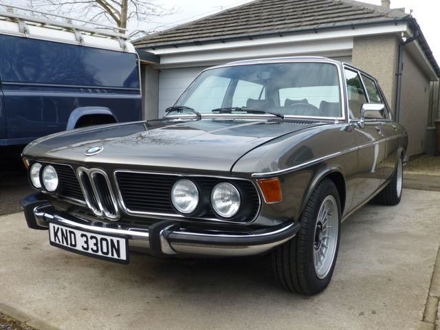 1975 BMW E3 2800L Saloon with Running Gear Updates For Sale (picture 4 of 6)