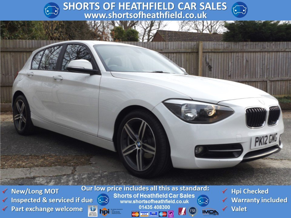 BMW 116d Sport 2.0 Turbo Diesel - 5 Dr Hatchback - 2012 SOLD (picture 1 of 1)