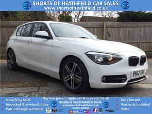 BMW 116d Sport 2.0 Turbo Diesel - 5 Dr Hatchback - 2012 For Sale