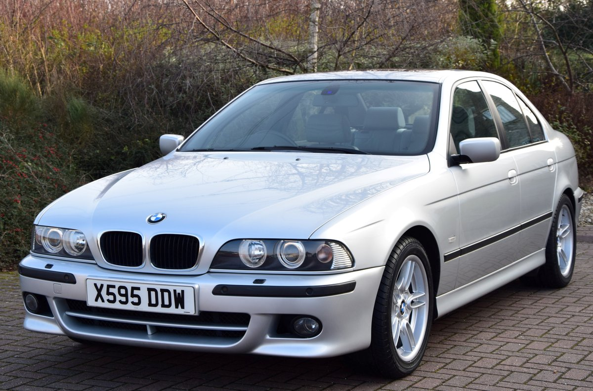 2000 Immaculate E39 530i M Sport Auto 45000 miles SOLD (picture 1 of 6)