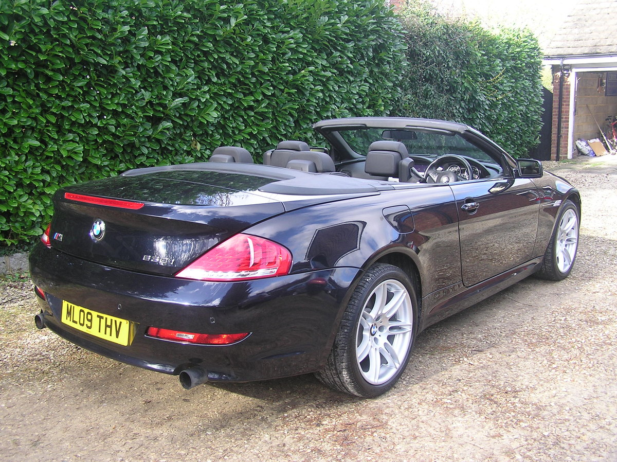 2009 bmw 630i convertible 272 ltd edt sport  For Sale (picture 2 of 6)