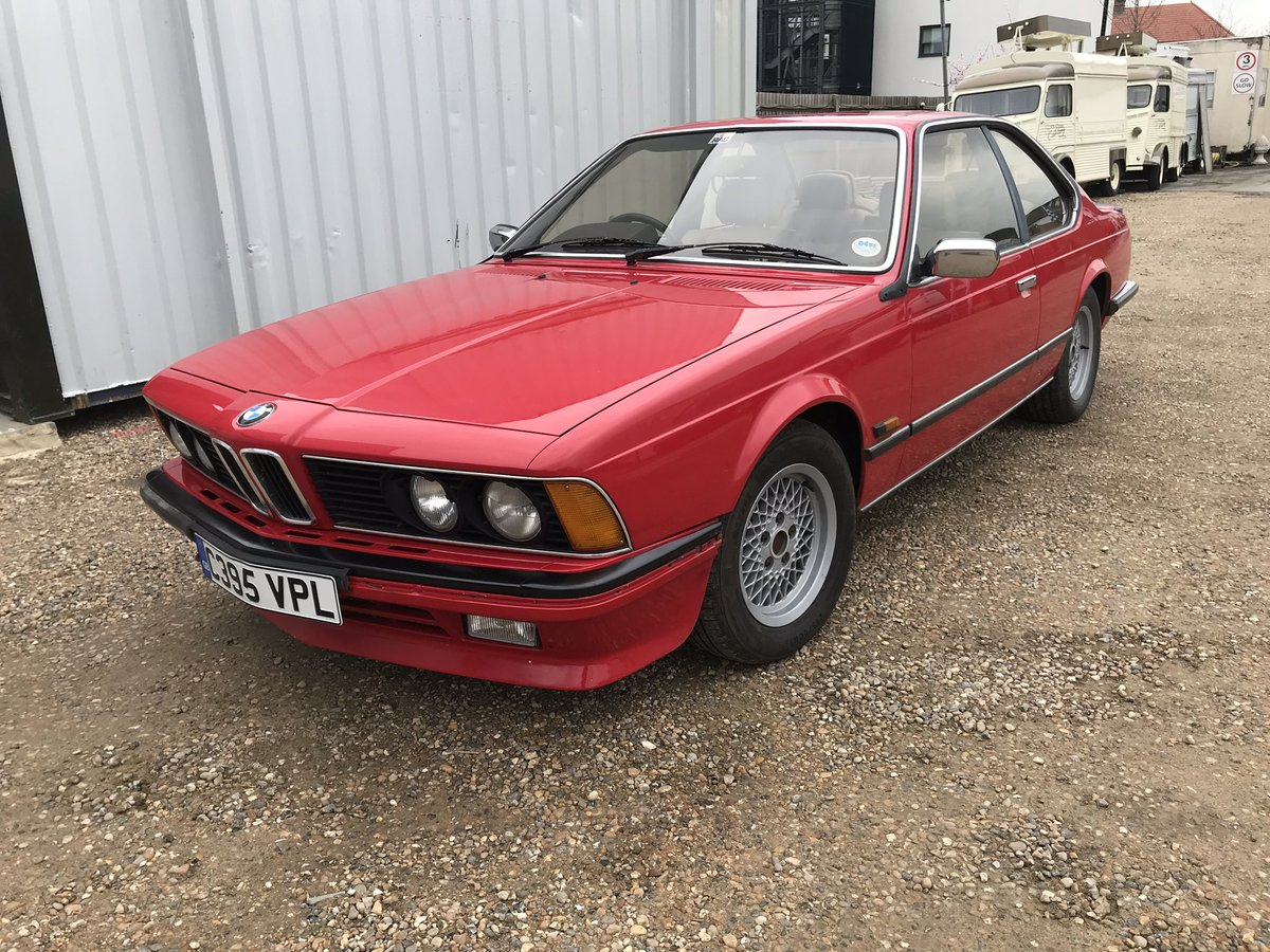 1986 BMW 635CSI E24 WANTED Wanted   Car And Classic