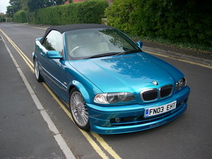 "2003 Low mileage alpina 3.4s convertible cat ""d"" For Sale"