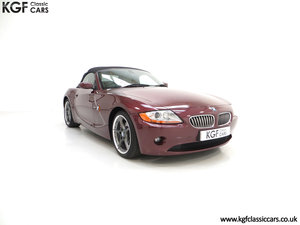 2003 A High Specification E85 BMW Z4 Roadster 3.0i SOLD