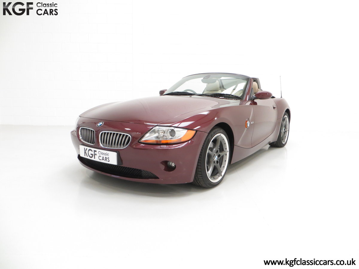 2003 A High Specification E85 BMW Z4 Roadster 3.0i SOLD (picture 2 of 6)