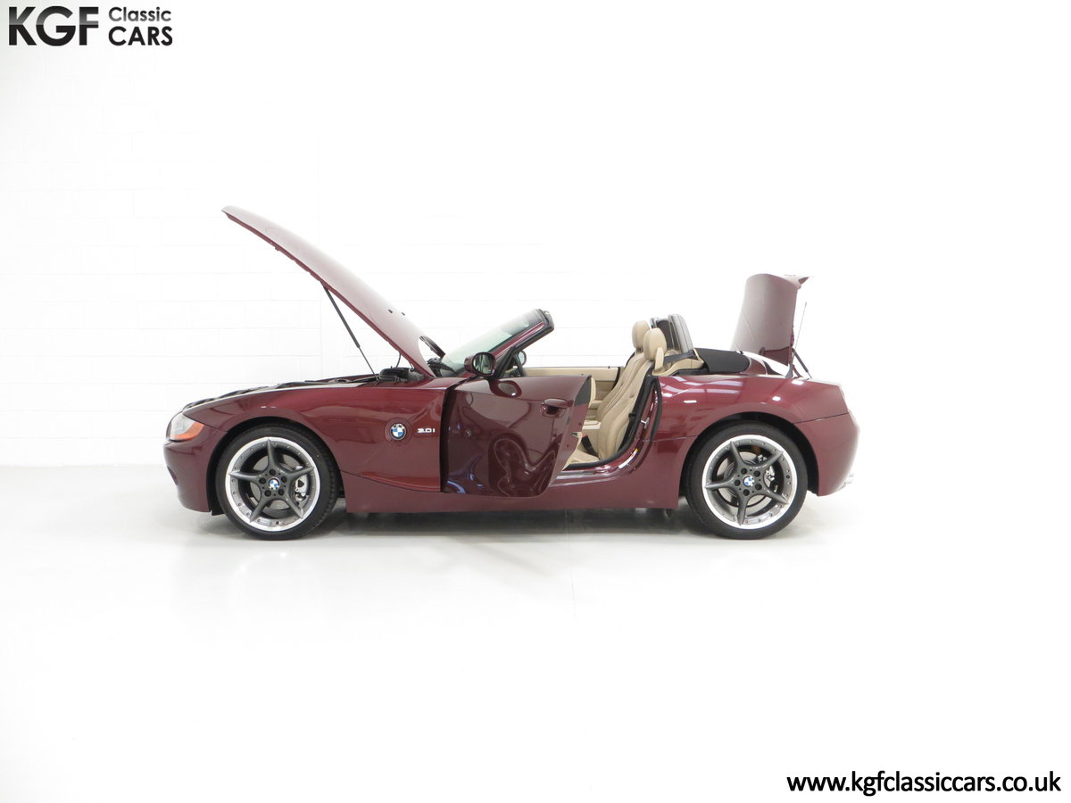 2003 A High Specification E85 BMW Z4 Roadster 3.0i SOLD (picture 3 of 6)