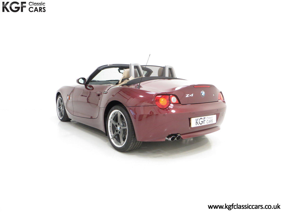 2003 A High Specification E85 BMW Z4 Roadster 3.0i SOLD (picture 4 of 6)