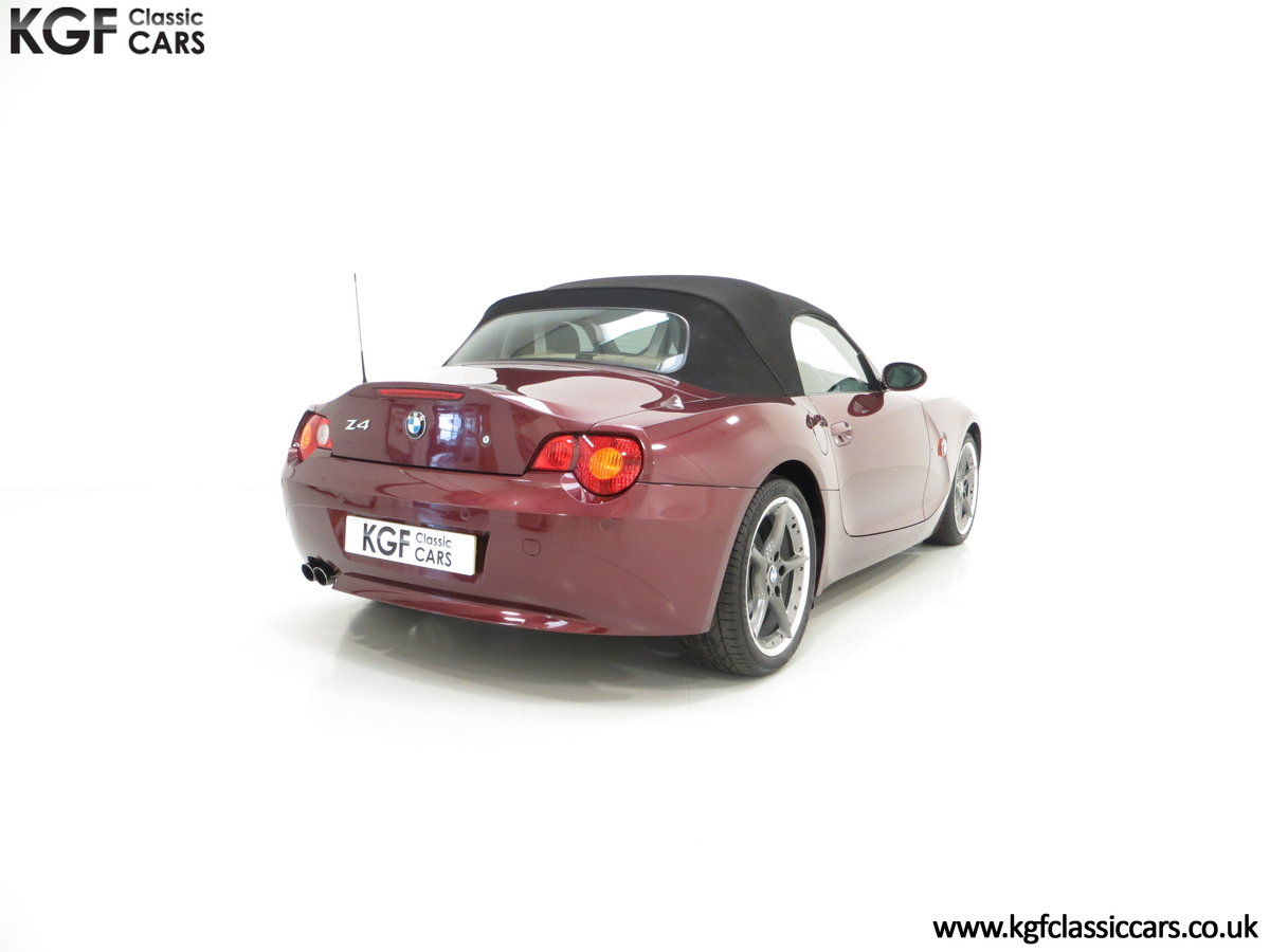 2003 A High Specification E85 BMW Z4 Roadster 3.0i SOLD (picture 5 of 6)