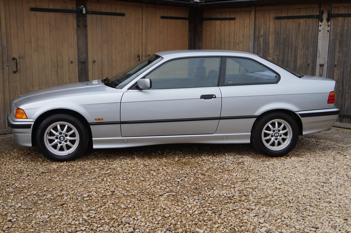 1998 BMW 316i COUPE AUTO 50,000 MILES 1 OWNER For Sale (picture 1 of 6)