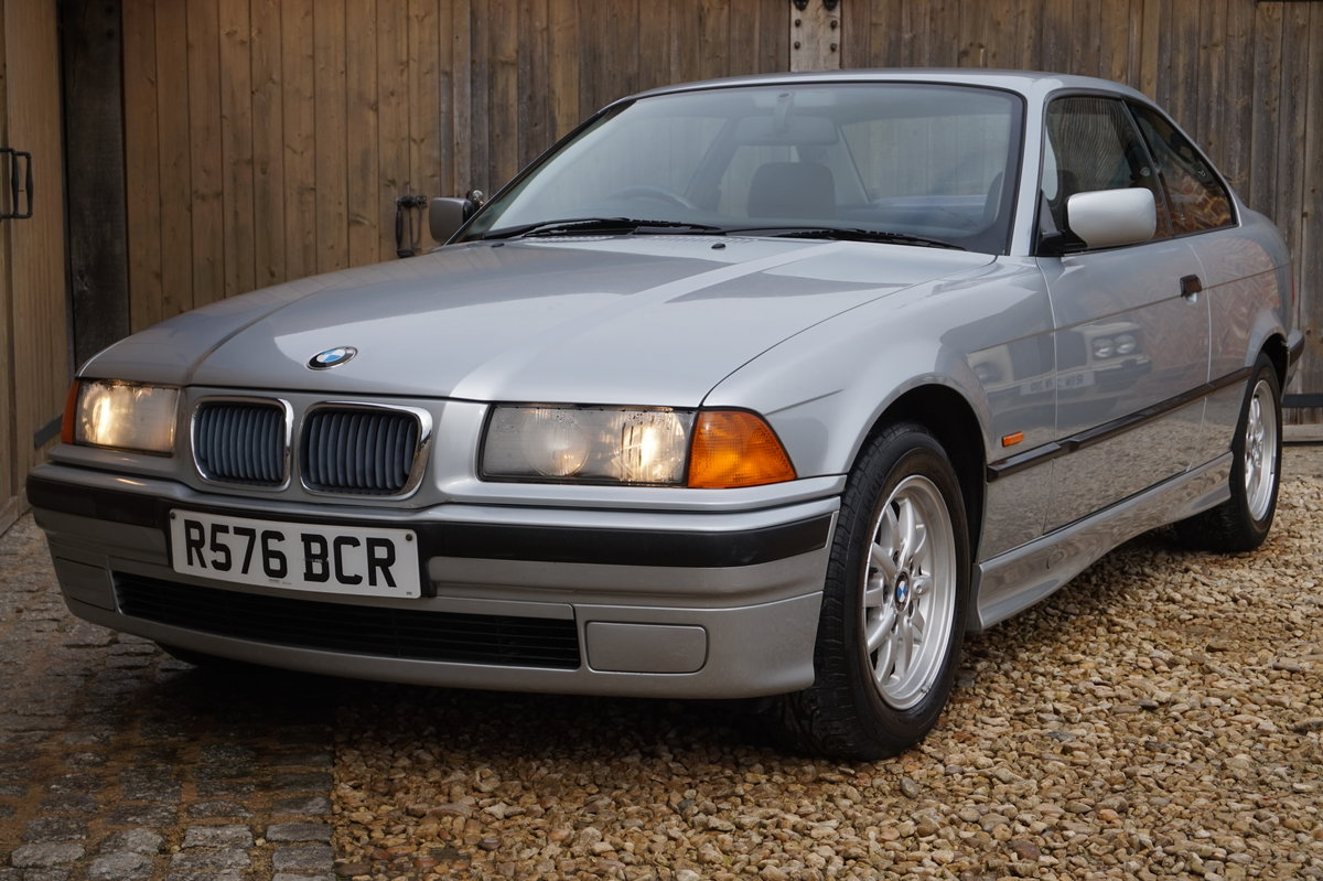 1998 BMW 316i COUPE AUTO 50,000 MILES 1 OWNER For Sale (picture 2 of 6)