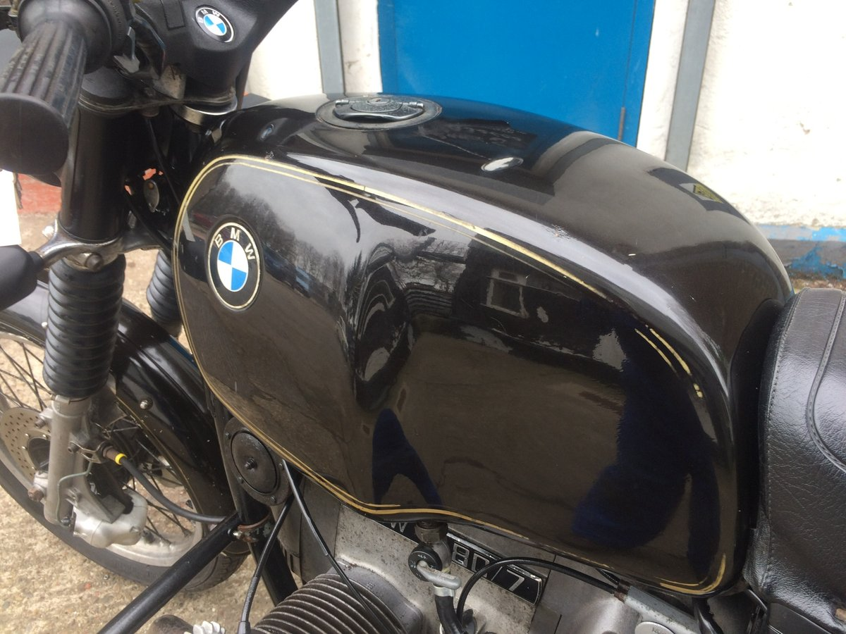1979 BMW R80/7, wire wheels, running/riding For Sale (picture 4 of 6)