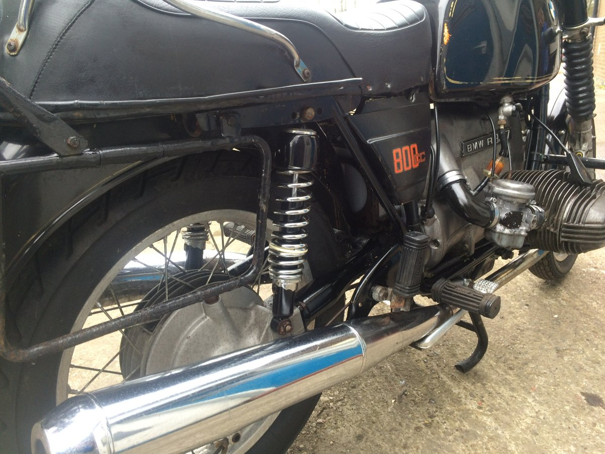 1979 BMW R80/7, wire wheels, running/riding For Sale (picture 5 of 6)