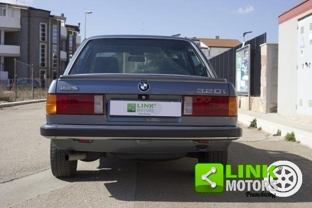 BMW 320i E30 1984 TARGA ORO ASI - PERFETTA For Sale (picture 4 of 6)