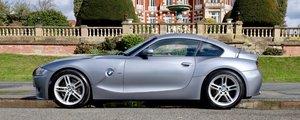 2007 Z4 Z4M Coupe 3.2 Straight Six, Silver Grey / Black