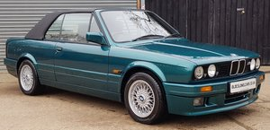 1992 Stunning E30 325i Convertible Manual - Only 76,000 - Hardtop For Sale