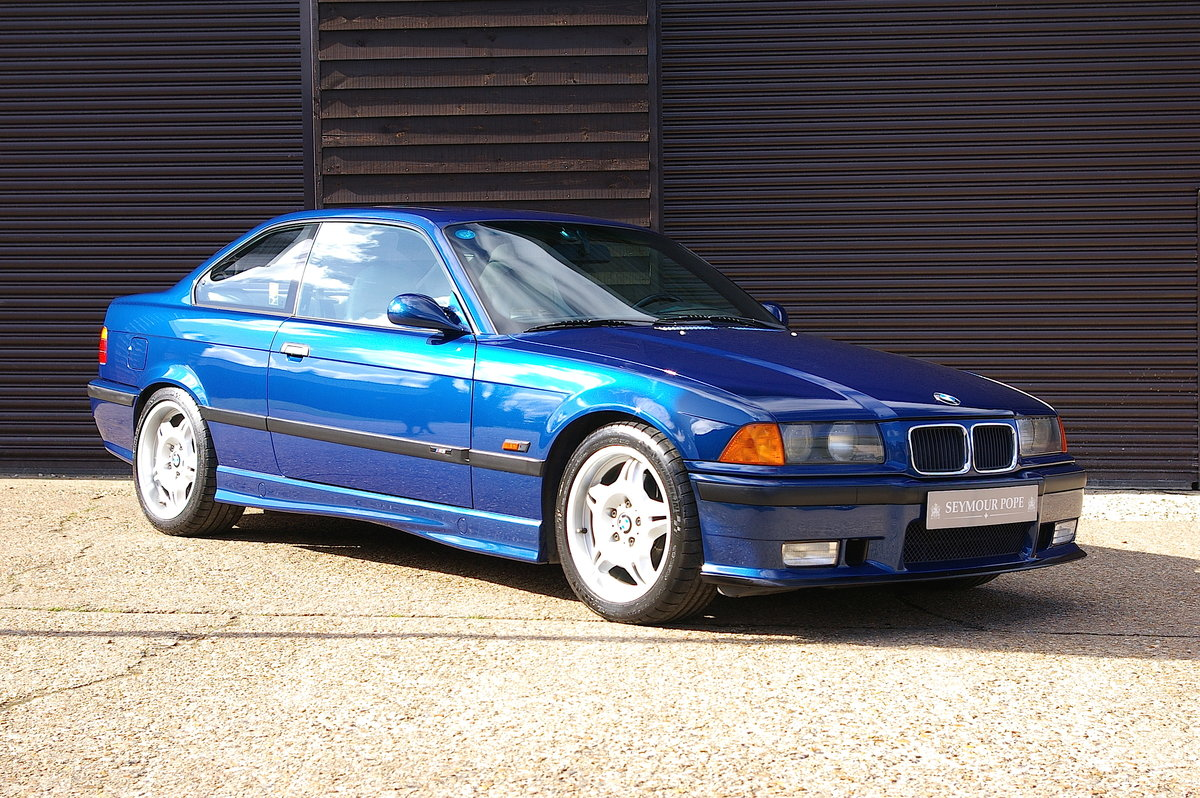1995 BMW E36 M3 3.0 Coupe 5 Speed Manual (35,670 miles) For Sale (picture 1 of 6)