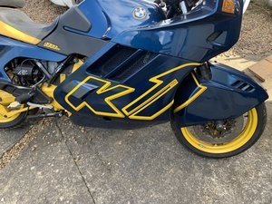 BMW K1   1000cc  UK Bike 1989 only 33000 miles For Sale