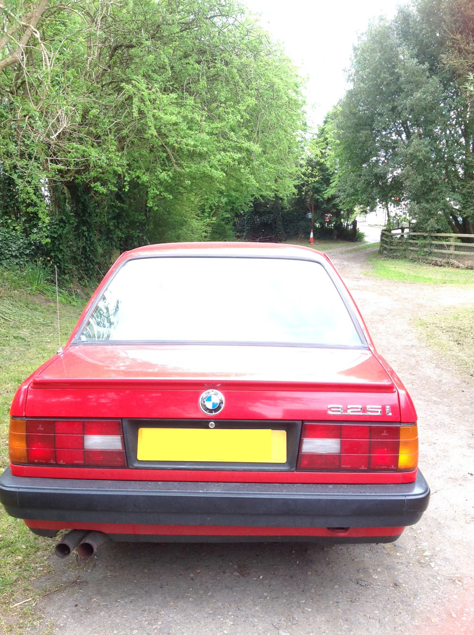 1990 Red BMW 325i For Sale (picture 3 of 6)