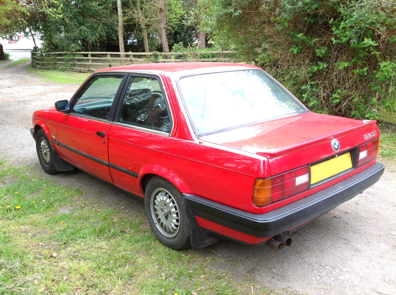 1990 Red BMW 325i For Sale (picture 4 of 6)