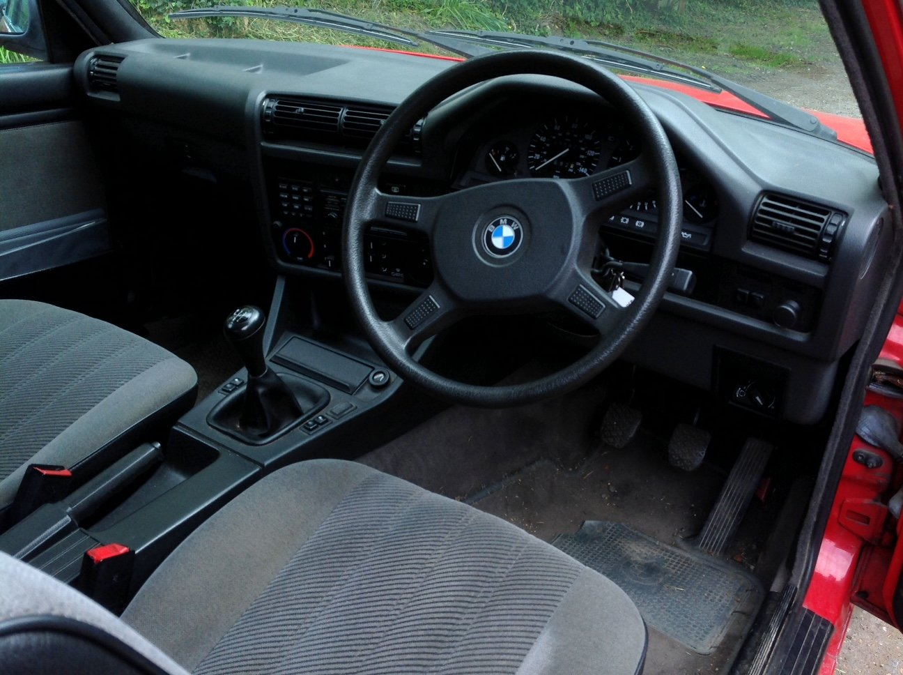 1990 Red BMW 325i For Sale (picture 5 of 6)