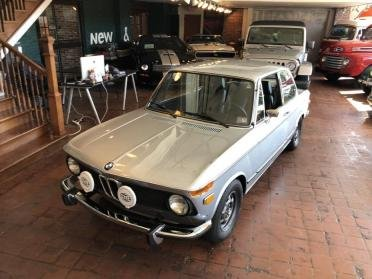 1974 BMW 2002tii Coupe = Restored Silver(~)Blue $32.9k For Sale