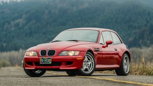 1999 BMW M Coupe = Manual 1 owner Red(~)Black $26k For Sale