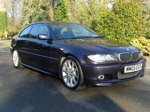 2005 BMW 320CD M SPORT INDIVIDUAL ***TECHNO VIOLET, FSH*** For Sale