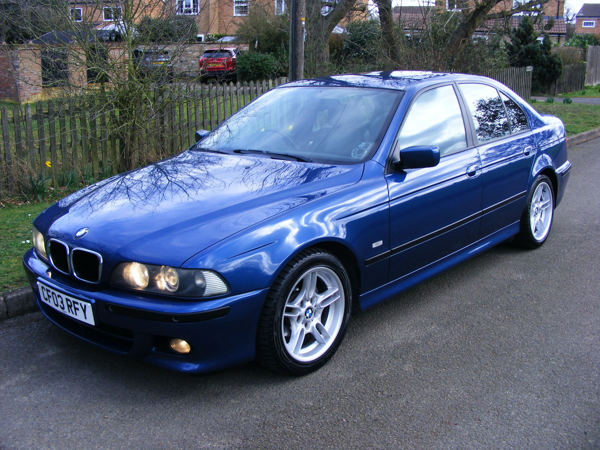 2003 Very Rare (1 Owner) E39 525i M Sport Petrol Manual For Sale (picture 1 of 6)