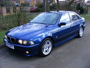 2003 Very Rare (1 Owner) E39 525i M Sport Petrol Manual For Sale