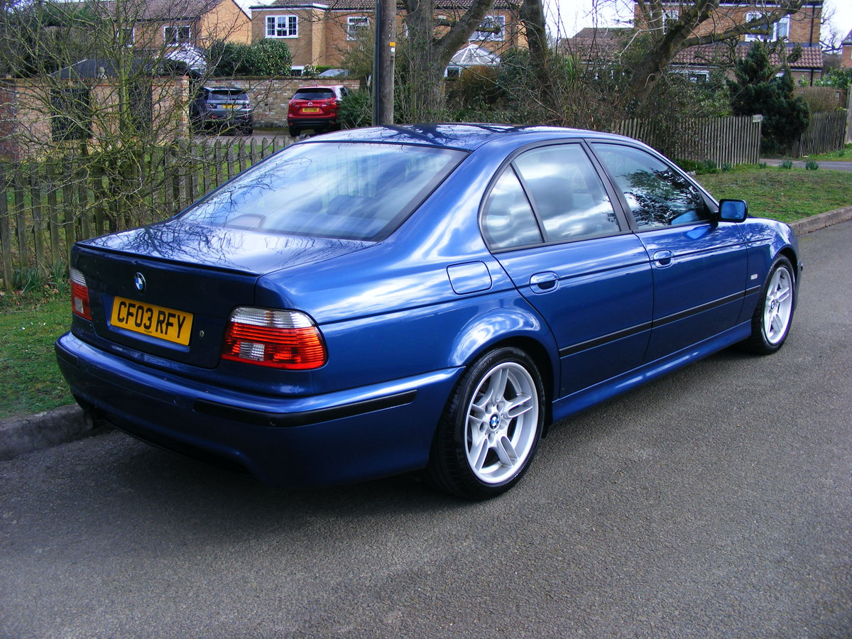 2003 Very Rare (1 Owner) E39 525i M Sport Petrol Manual For Sale (picture 2 of 6)