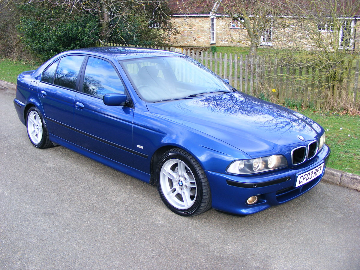 2003 Very Rare (1 Owner) E39 525i M Sport Petrol Manual For Sale (picture 3 of 6)