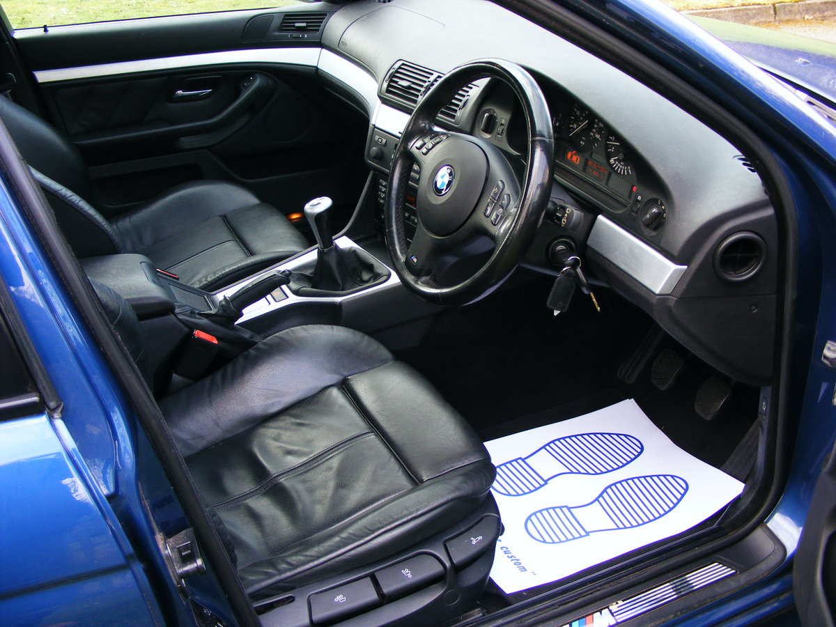 2003 Very Rare (1 Owner) E39 525i M Sport Petrol Manual For Sale (picture 6 of 6)